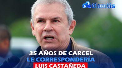 Photo of 35 AÑOS DE CARCEL LE CORRESPONDERÍA  A LUIS CASTAÑEDA