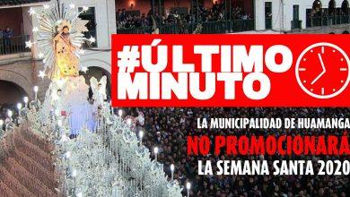Photo of ÚLTIMO MINUTO La Municipalidad Provincial de Huamanga