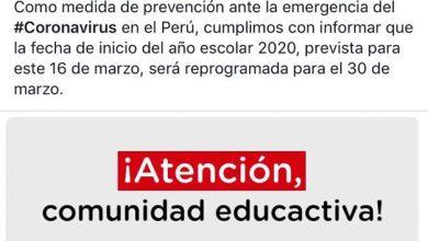 Photo of URGENTE | Esta mañana, el mandatario confirmó la suspensión de las clases